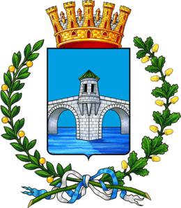 Auto blu Pontedera